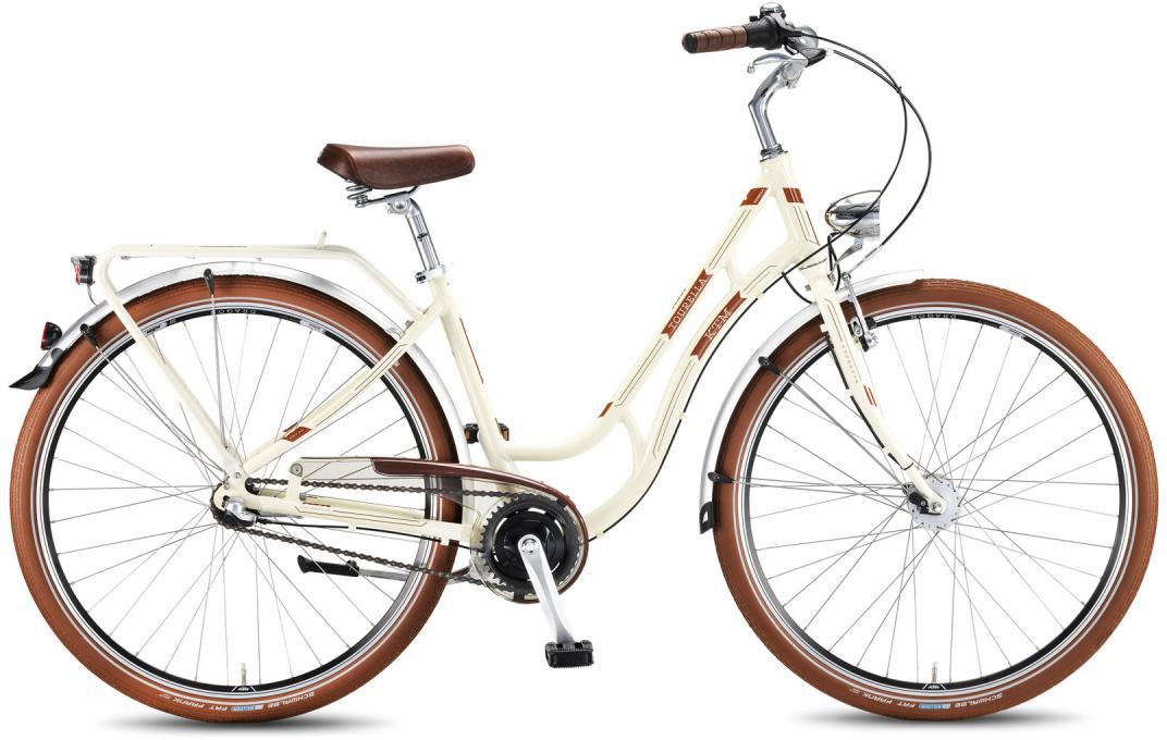 Велосипед женский KTM Tourella 28.3 2016, цвет: белый, рама 18, колесо 28267624