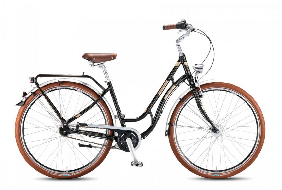 Велосипед женский KTM Tourella 28.3 2016, цвет: черный, рама 18, колесо 28267626