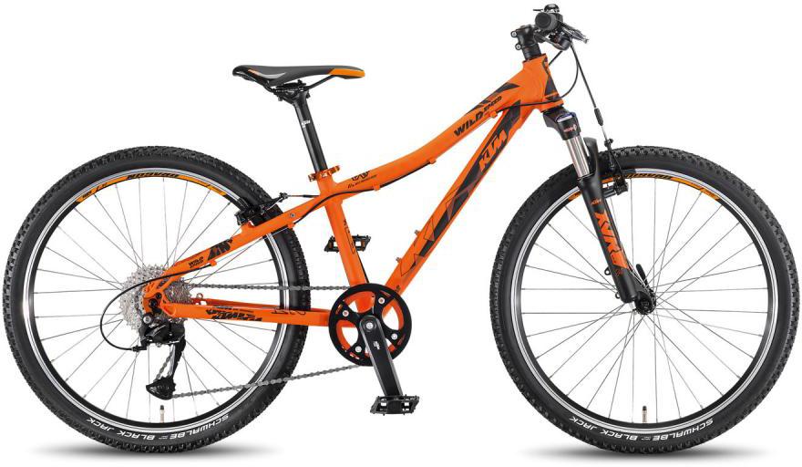 Велосипед подростковый KTM Wild Speed 24.9 light 2016, цвет: оранжевый, колесо 24267632