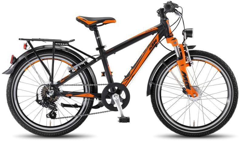 Велосипед детский KTM Wild One 20.6 2016, цвет: черный, колесо 20267639