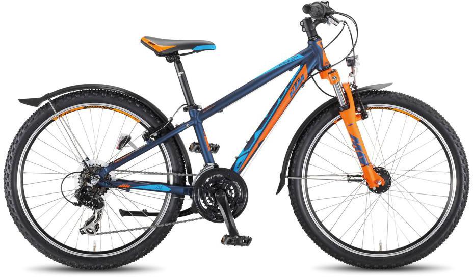 Велосипед детский KTM Wild Cross 24.18 MTB Street 2016, цвет: черный, колесо 24267972
