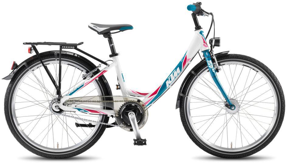 Велосипед детский KTM Wild Cat 24.7 2016, цвет: белый, колесо 24267976