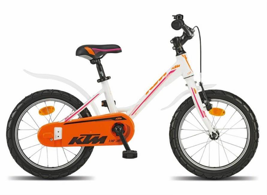 Велосипед детский KTM 1.16 kid Girl 2016, цвет: оранжевый, колесо 16267978