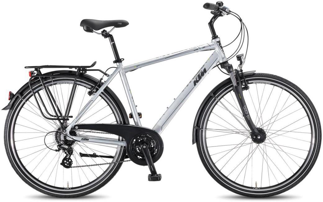 Велосипед городской KTM Life Joy HE 2016, цвет: серый, рама 22, колесо 28268628