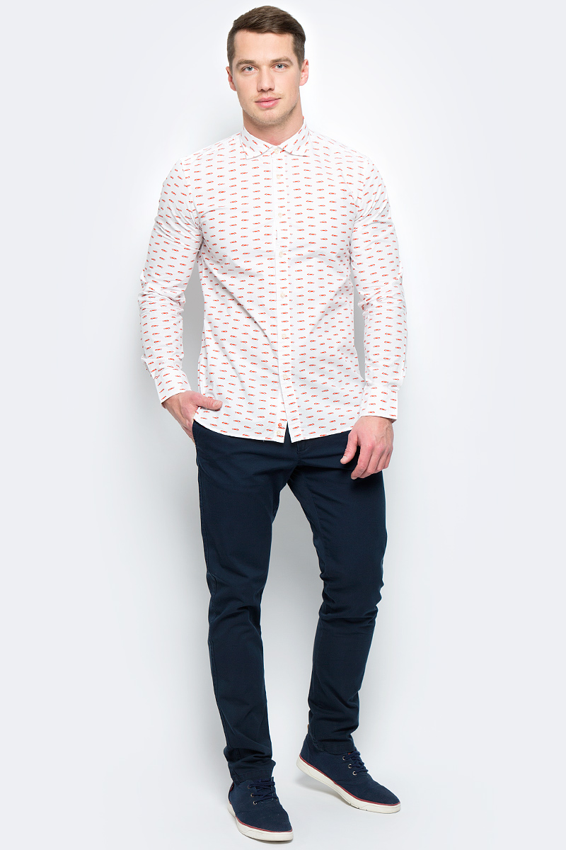 Брюки мужские United Colors of Benetton, цвет: синий. 4APN55AW8_06U. Размер 424APN55AW8_06UСтильные мужские брюки United Colors of Benetton выполнены из качественного материала. Брюки застегиваются на комбинированную застежку. Эти модные и в тоже время комфортные брюки послужат отличным дополнением к вашему гардеробу.
