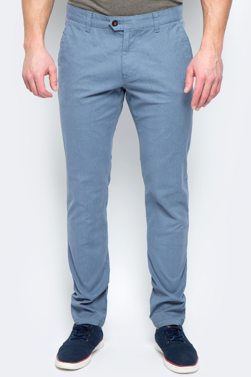 Брюки мужские United Colors of Benetton, цвет: синий. 4KE955BM8_902. Размер 50 брюки united colors of benetton брюки