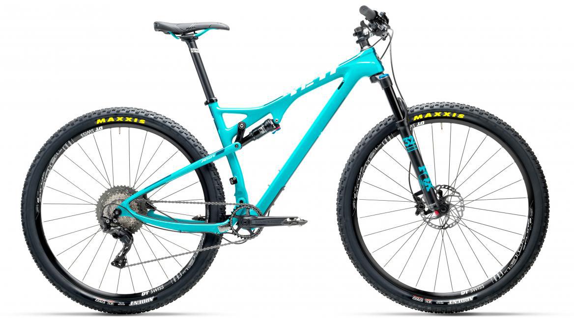 Велосипед горный Yeti ASRC XT-SLX 2017, цвет: голубой, рама 14, колесо 27,5280506
