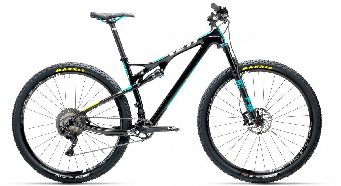 Велосипед горный Yeti ASRC XT-SLX 2017, цвет: черный, рама 18, колесо 29280507