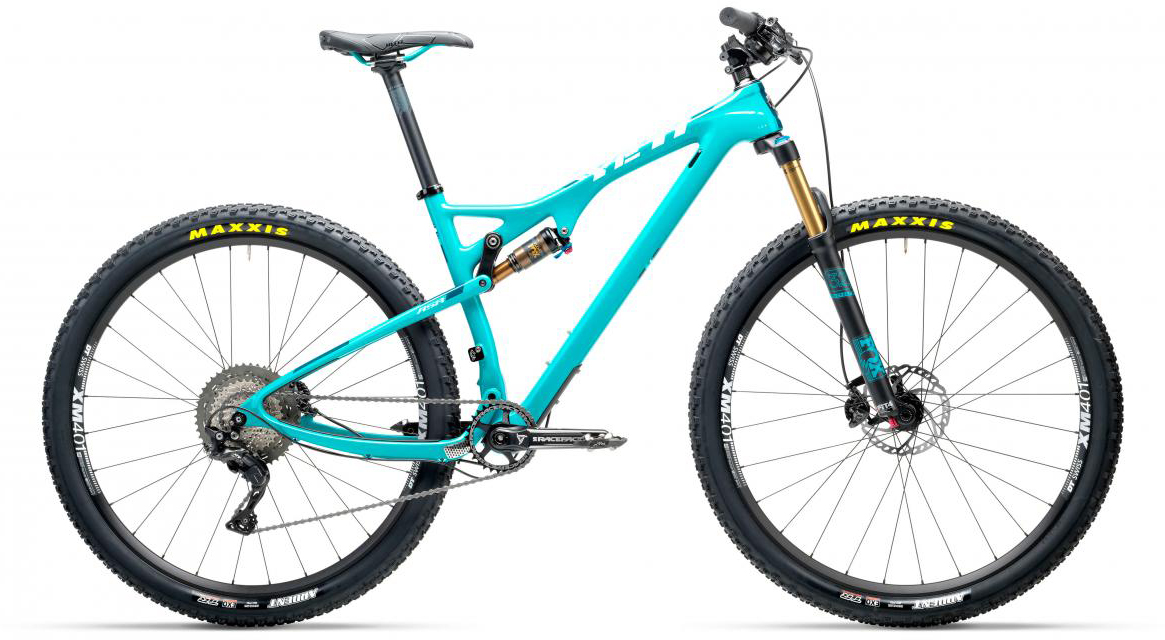 Велосипед горный Yeti ASRT XT 2017, цвет: голубой, рама 18, колесо 29280527