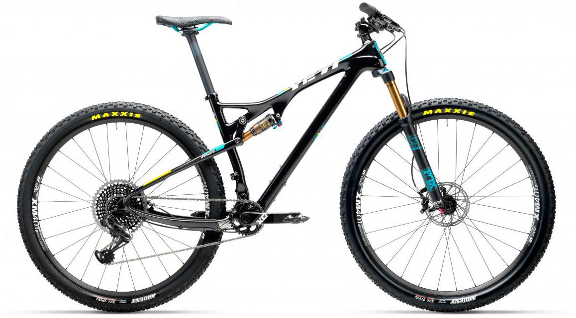 Велосипед горный Yeti ASRT X01 Eagle 2017, цвет: черный, рама 16, колесо 27,5280543