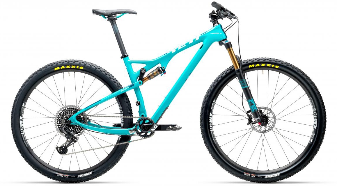 Велосипед горный Yeti ASRT X01 Eagle 2017, цвет: голубой, рама 14, колесо 27,5280546
