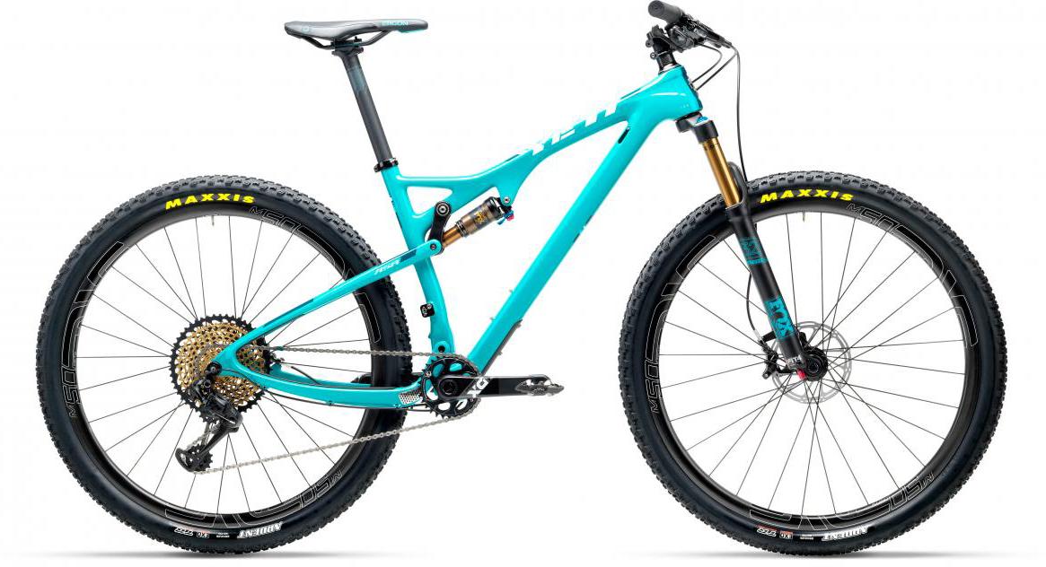 Велосипед горный Yeti ASRT XX1 Eagle 2017, цвет: голубой, рама 16, колесо 27,5280