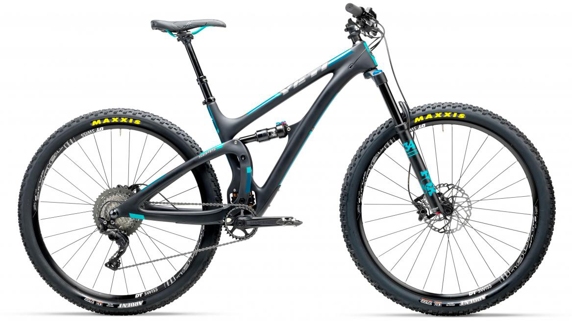 Велосипед горный Yeti SB4.5C XT-SLX 2017, цвет: черный, рама 16, колесо 29280573