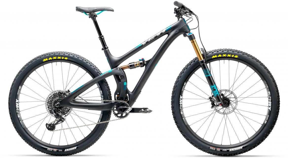 Велосипед горный Yeti SB4.5T X01 Eagle 2017, цвет: черный, рама 16, колесо 29280605
