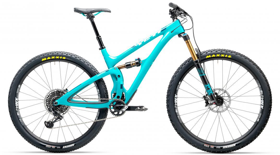 Велосипед горный Yeti SB4.5T X01 Eagle 2017, цвет: голубой, рама 20, колесо 29280611
