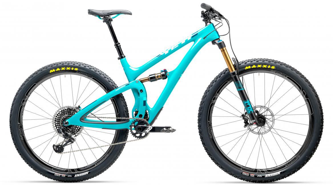 Велосипед горный Yeti SB45T X01 Eagle + ENVE 2017, цвет: голубой, рама 18, колесо 29280618