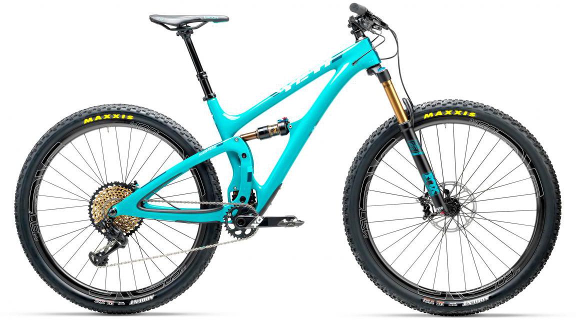 Велосипед горный Yeti SB4.5T XX1 Eagle 2017, цвет: голубой, рама 16, колесо 29280625