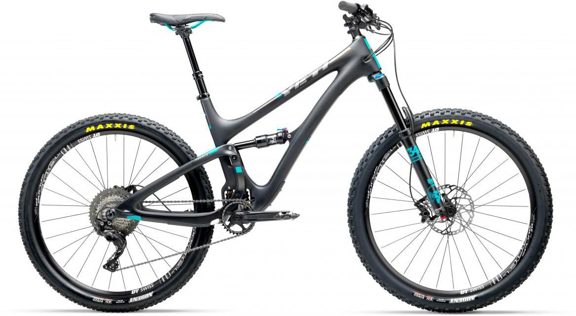 Велосипед горный Yeti SB5C XT-SLX 2017, цвет: черный, рама 18, колесо 27,5280631