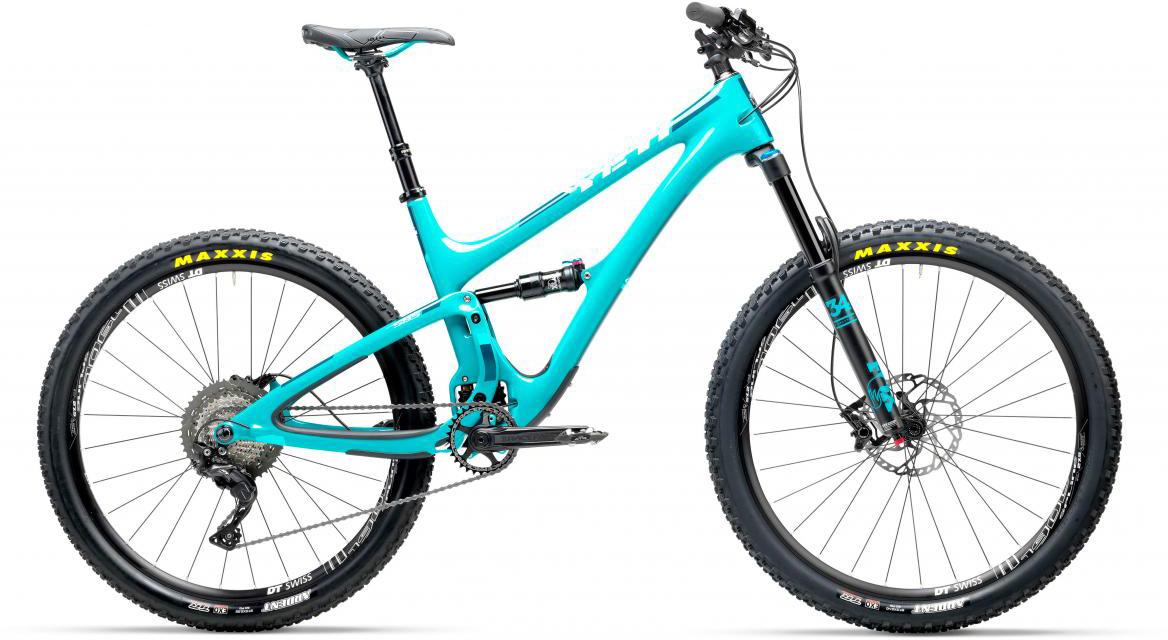 Велосипед горный Yeti SB5C XT-SLX 2017, цвет: голубой, рама 18, колесо 27,5280636