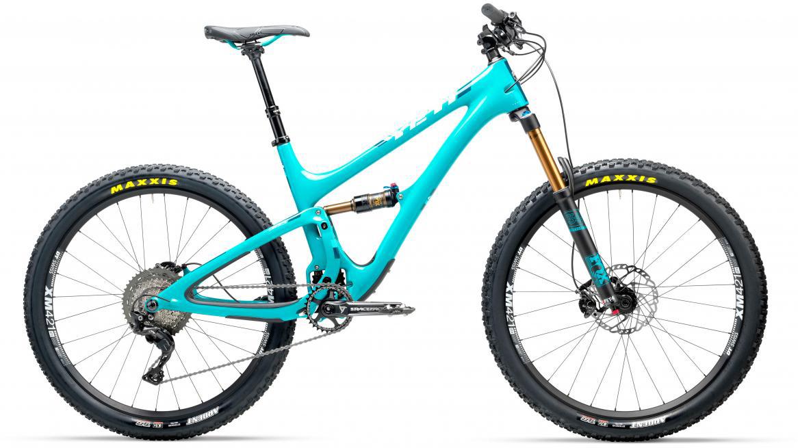 Велосипед горный Yeti SB5T XT 2017, цвет: голубой, рама 18, колесо 27,5280656