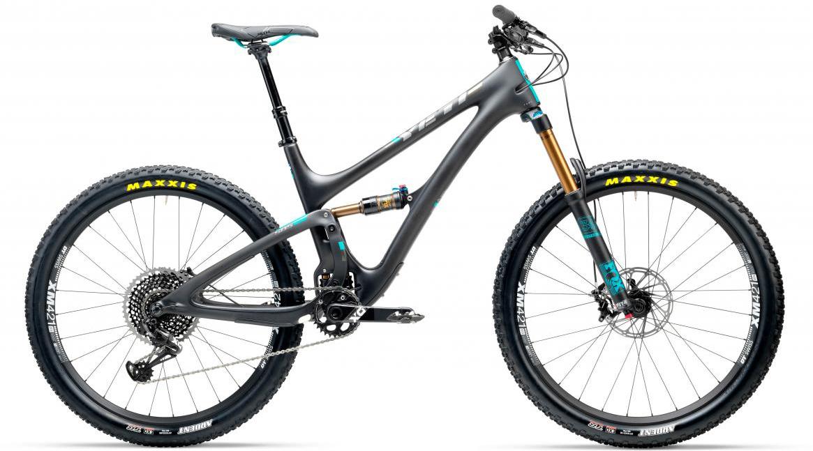 Велосипед горный Yeti SB5T X01 Eagle 2017, цвет: черный, рама 14, колесо 27,5280669