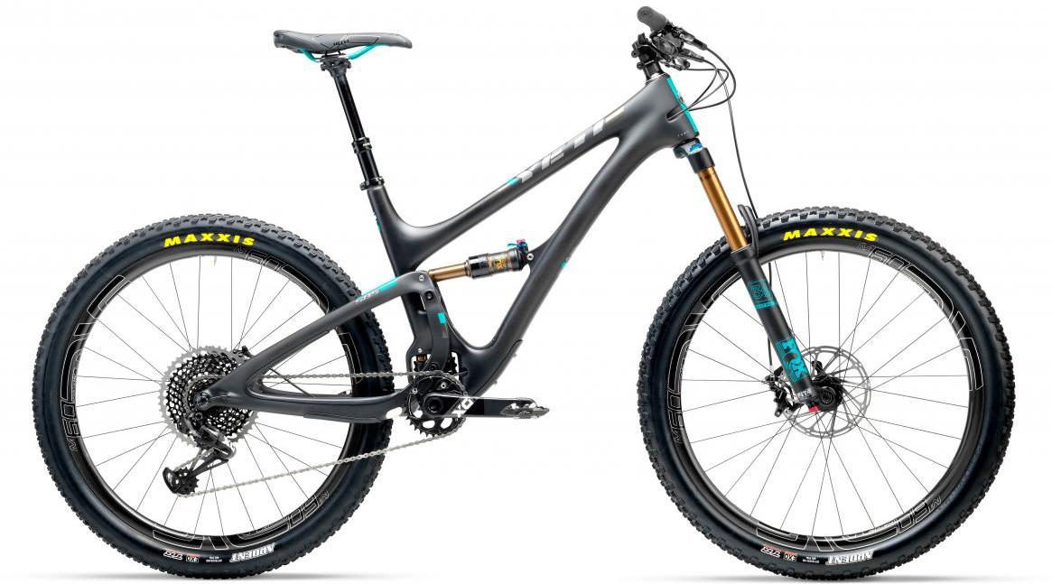 Велосипед горный Yeti SB5T X01 Eagle + ENVE 2017, цвет: черный, рама 18, колесо 27,5280681