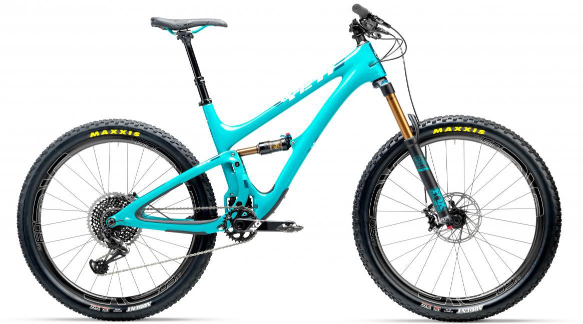 Велосипед горный Yeti SB5T X01 Eagle + ENVE 2017, цвет: голубой, рама 14, колесо 27,5280684
