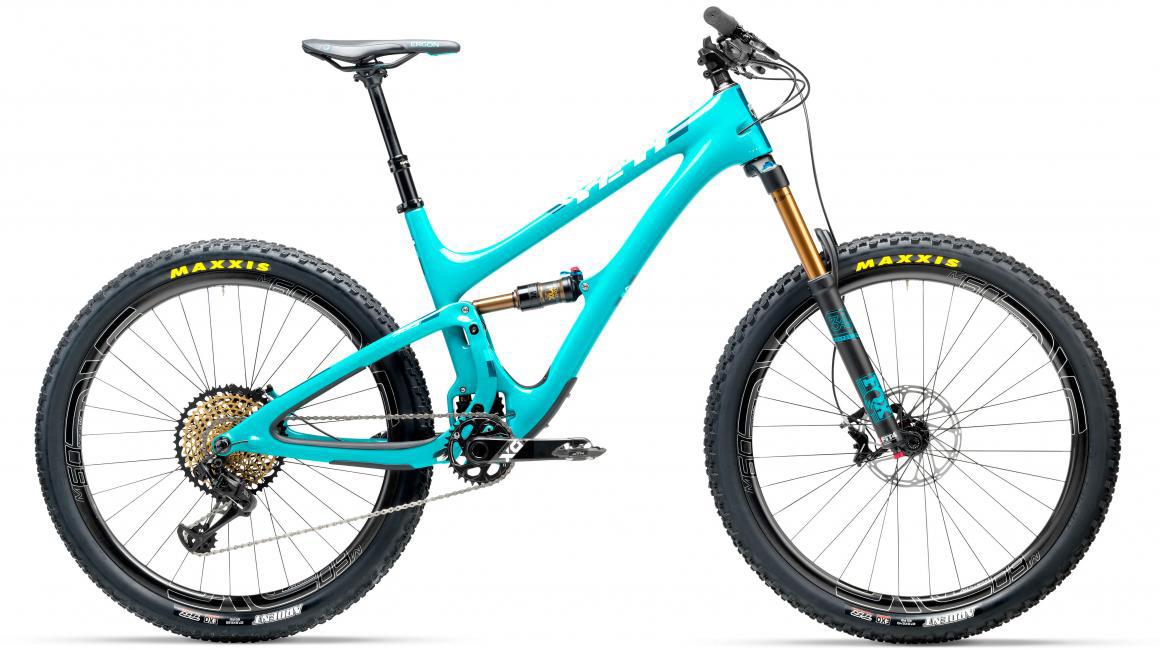 Велосипед горный Yeti SB5T XX1 Eagle 2017, цвет: голубой, рама 22, колесо 27,5280698