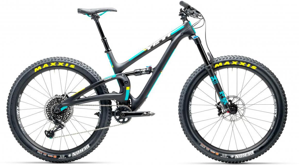 Велосипед горный Yeti SB5+C Eagle 2017, цвет: черный, рама 22, колесо 27,5280704