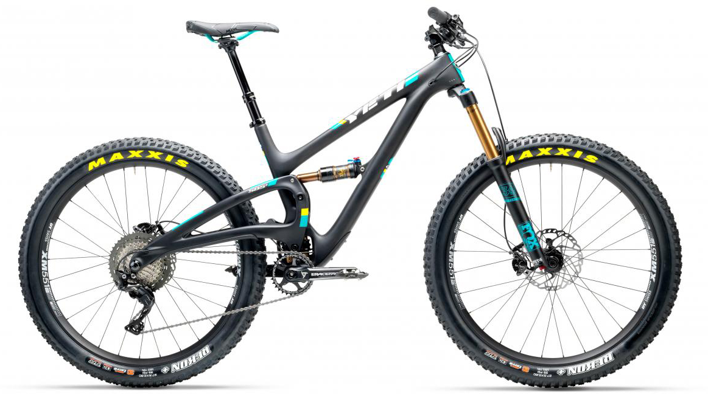 Велосипед горный Yeti SB5+T XT 2017, цвет: черный, рама 22, колесо 27,5280707
