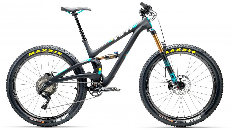 Велосипед горный Yeti SB5+T XT + ENVE 2017, цвет: черный, рама 22, колесо 27,5280710