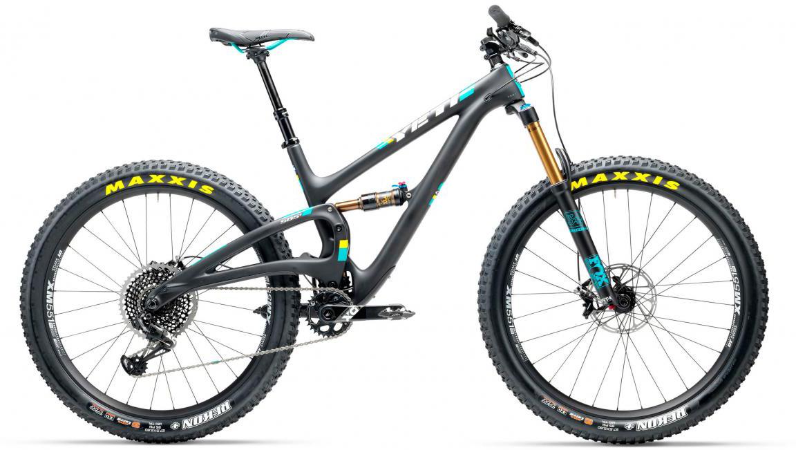 Велосипед горный Yeti SB5+T X01 Eagle 2017, цвет: черный, рама 18, колесо 27,5280711