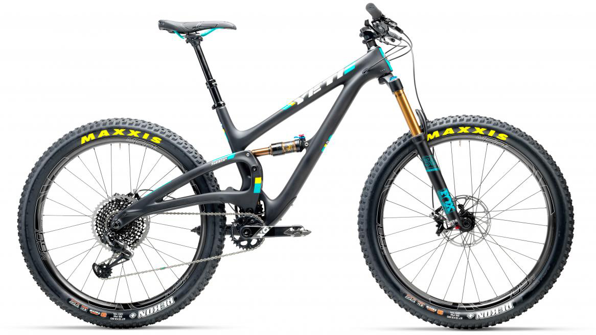Велосипед горный Yeti SB5+T X01 Eagle + ENVE 2017, цвет: черный, рама 20, колесо 27,5280715