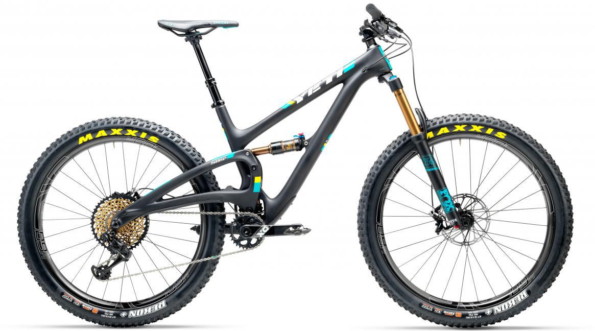 Велосипед горный Yeti SB5+T XX1 Eagle 2017, цвет: черный, рама 20, колесо 27,5. 280719280719