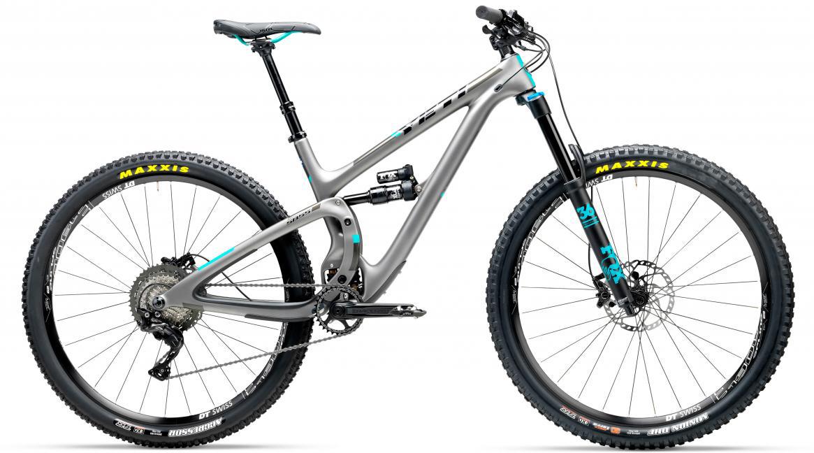 Велосипед горный Yeti SB5.5C XT-SLX 2017, цвет: серый, рама 22, колесо 29280722
