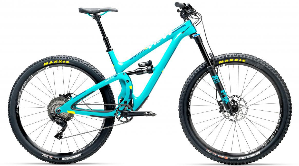 Велосипед горный Yeti SB5.5C XT-SLX 2017, цвет: голубой, рама 18, колесо 29280723