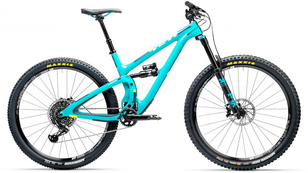 Велосипед горный Yeti SB5.5C Eagle 2017, цвет: голубой, рама 20, колесо 29280727