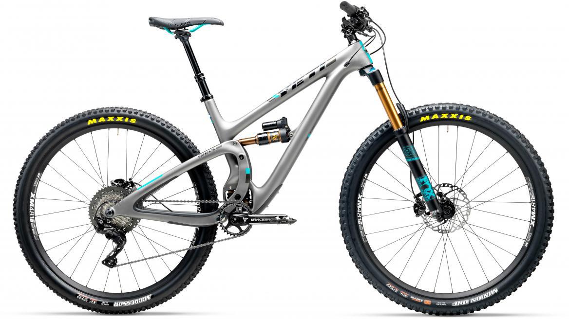 Велосипед горный Yeti SB5.5T XT 2017, цвет: серый, рама 18, колесо 29280732