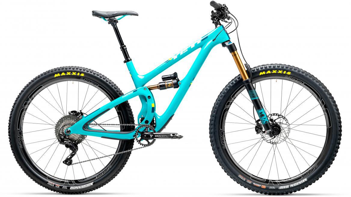Велосипед горный Yeti SB5.5T XT + ENVE 2017, цвет: голубой, рама 22, колесо 29280740