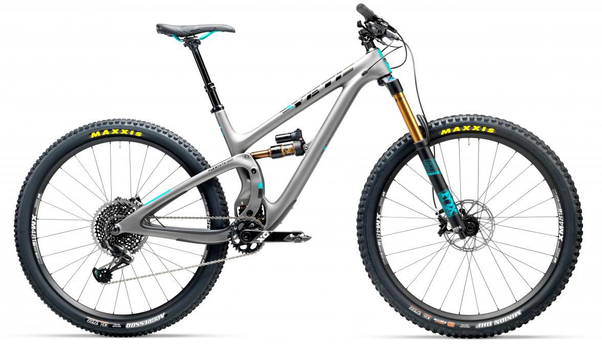Велосипед горный Yeti SB5.5T X01 Eagle 2017, цвет: серый, рама 20, колесо 29280745