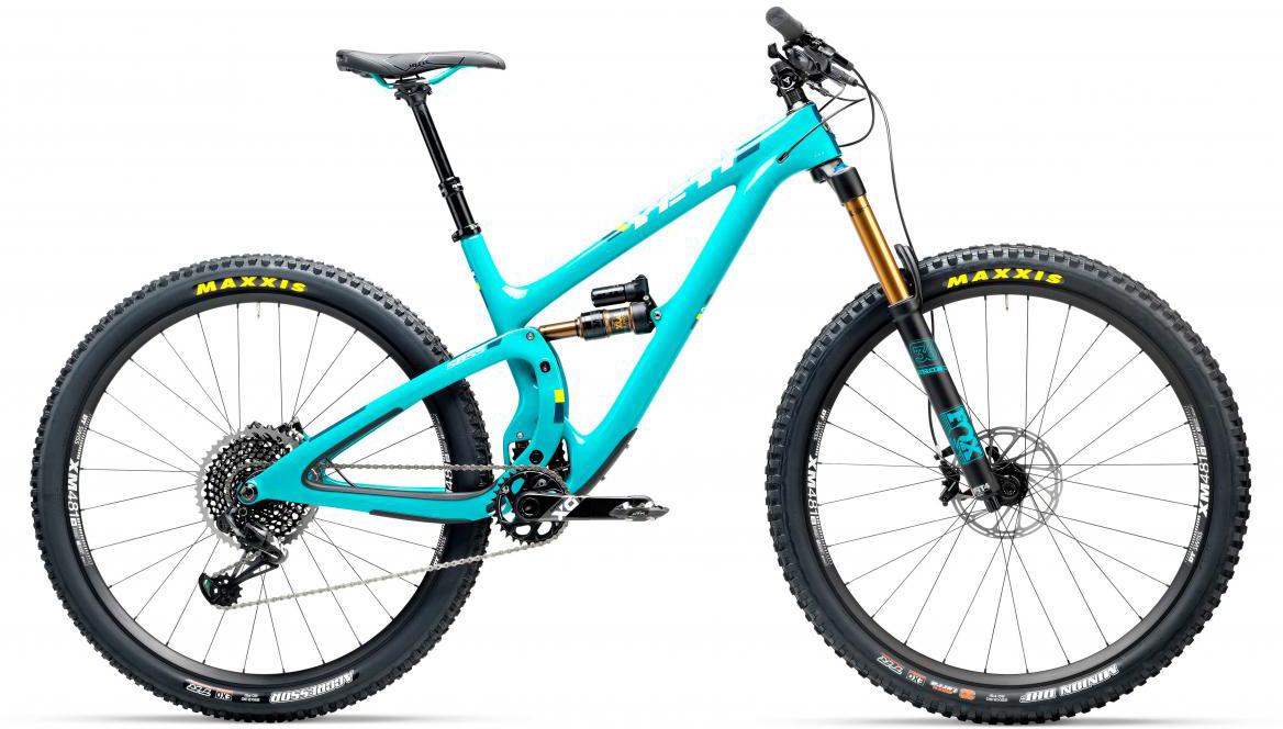 Велосипед горный Yeti SB5.5T X01 Eagle 2017, цвет: голубой, рама 18, колесо 29280747