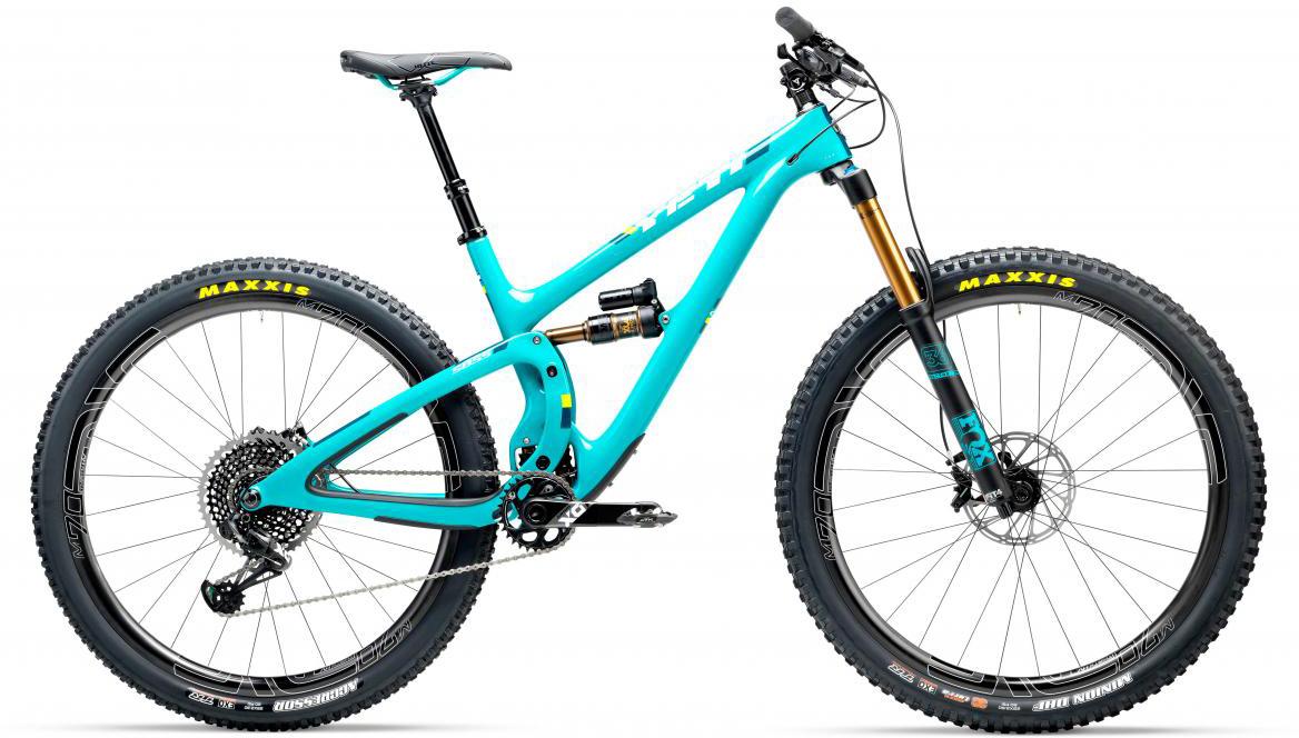 Велосипед горный Yeti SB5.5T X01 Eagle + ENVE 2017, цвет: голубой, рама 18, колесо 29280750