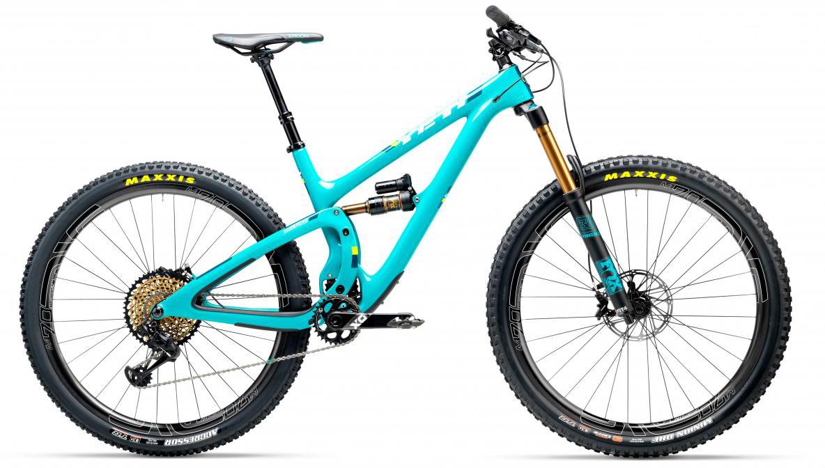 Велосипед горный Yeti SB5.5T XX1 Eagle 2017, цвет: голубой, рама 20, колесо 29280760