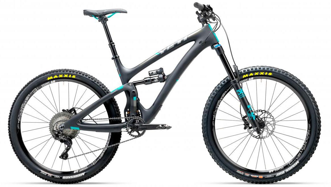 Велосипед горный Yeti SB6C XT-SLX 2017, цвет: черный, рама 22, колесо 27,5280766