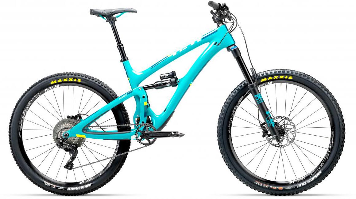 Велосипед горный Yeti SB6C XT-SLX 2017, цвет: голубой, рама 18, колесо 27,5280769