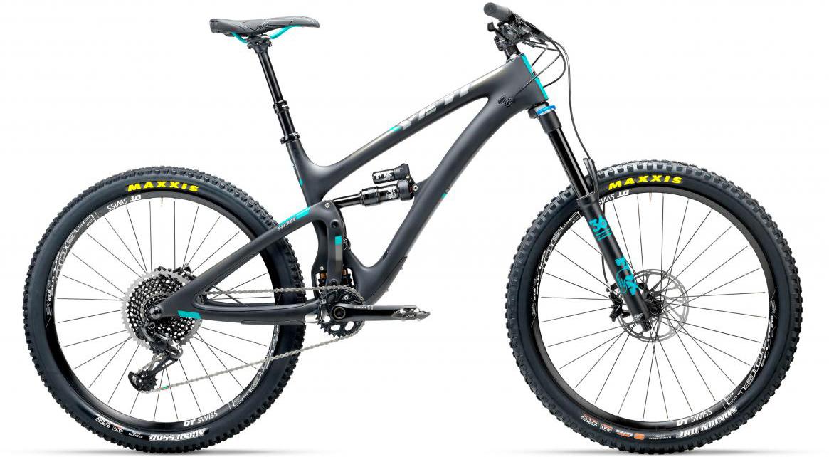 Велосипед горный Yeti SB6C Eagle 2017, цвет: черный, рама 22, колесо 27,5280776