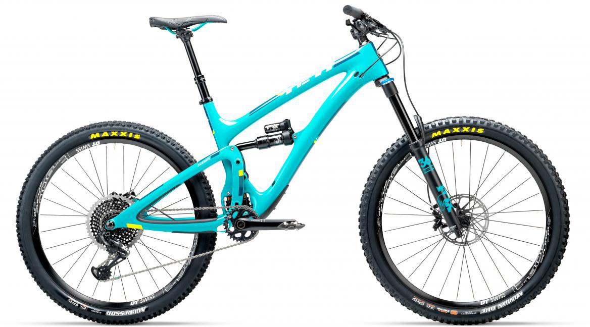 Велосипед горный Yeti SB6C Eagle 2017, цвет: голубой, рама 18, колесо 27,5280779