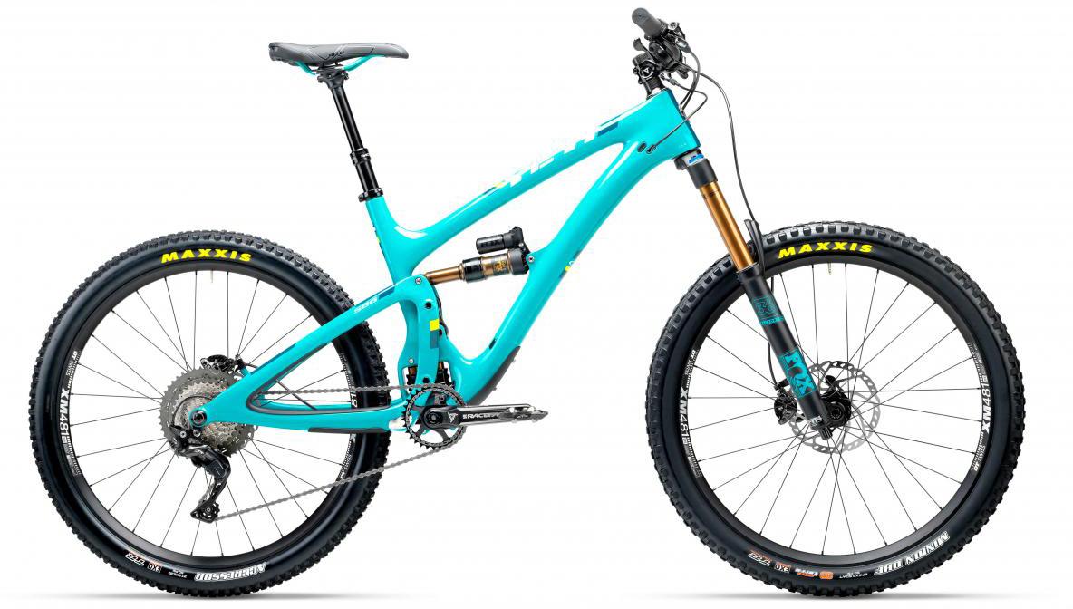 Велосипед горный Yeti SB6T XT 2017, цвет: голубой, рама 22, колесо 27,5280791