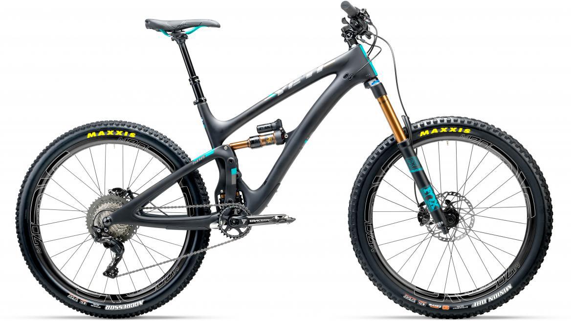 Велосипед горный Yeti SB6T XT + ENVE 2017, цвет: черный, рама 16, колесо 27,5280793