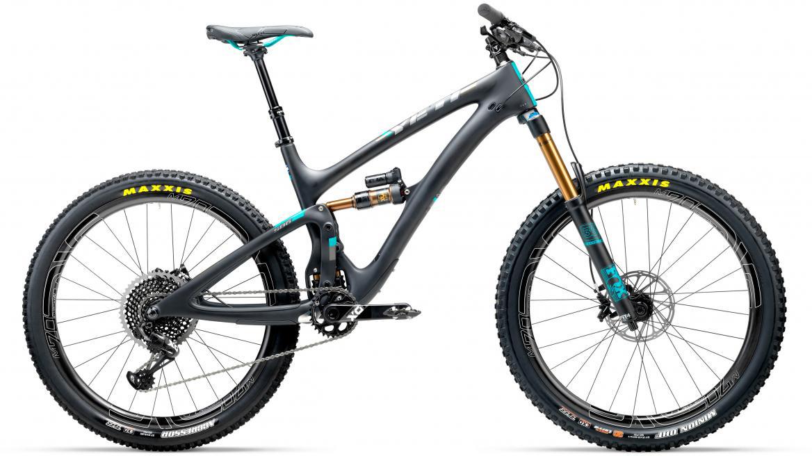 Велосипед горный Yeti SB6T X01 Eagle + ENVE 2017, цвет: черный, рама 16, колесо 27,5280813